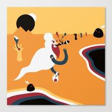 Fumador inconsciente Canvas Print