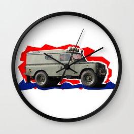 Britain's got guts: Land Rover Defender Wall Clock