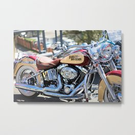 Passion for motorcycles, engines, street bikes Metal Print