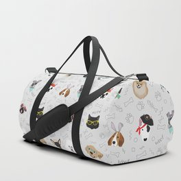 Polka Pets Duffle Bag