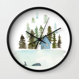 I see a whale! Wall Clock