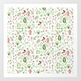 Nature Pattern Art Print