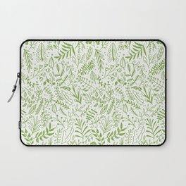 Greenery Garden Seamless Pattern Laptop Sleeve