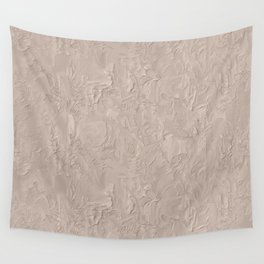 Beige Plastering Texture Wall Tapestry
