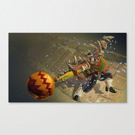 Dia De Los Muertakaiser Canvas Print
