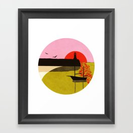 Sea Fever 3 Framed Art Print