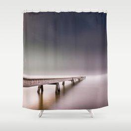 Nebel II (in color) Shower Curtain