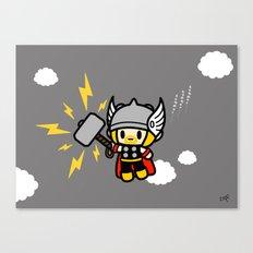 Thor QiQi - hammer hammer hammer.... Canvas Print