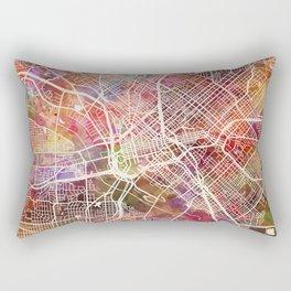 Dallas map 2 Rectangular Pillow