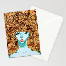 Head up, love Stationery Cards