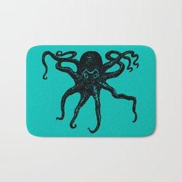 From the Deep Aqua - Octopus by Seasons Kaz Sparks Bath Mat