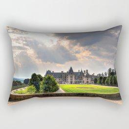 The Biltmore House Rectangular Pillow