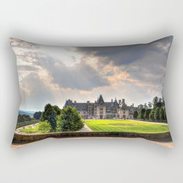 The Biltmore House Rectangular Pillow