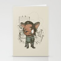 che Stationery Cards featuring Che huahua by Clinton Jacobs