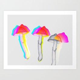 Psilocybins Art Print