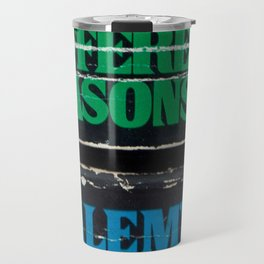 Stephen King Well-Worn Paperbacks Travel Mug