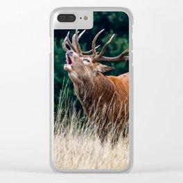 Roar. Clear iPhone Case