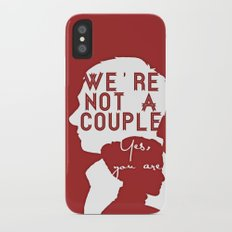 Not a couple Slim Case iPhone X