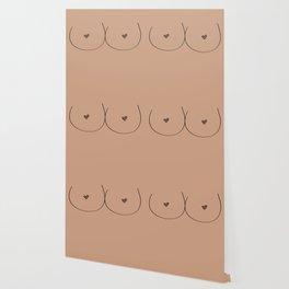 Boobs - Light Brown Wallpaper