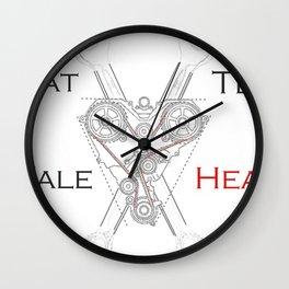 That Tell-Tale Heart Wall Clock