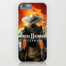 Shang Tsung, Raiden And Liu Kang iPhone Case
