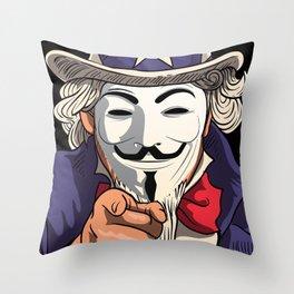 DON'T! Throw Pillow