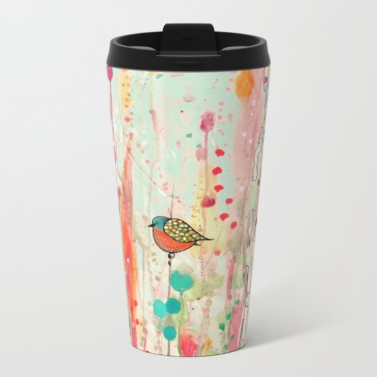 this strange feeling of liberty Metal Travel Mug