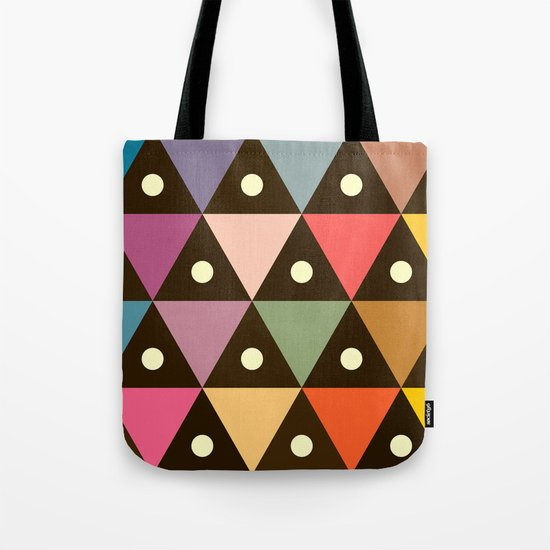 Cosmic Triangles Tote Bag