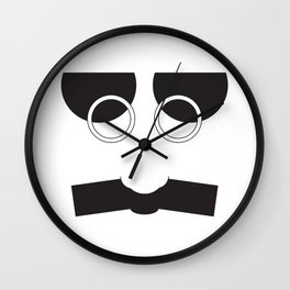 Face Groucho Graphic Wall Clock