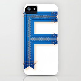The Letter F iPhone Case