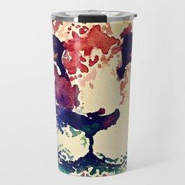 Watercolor Lion Travel Mug