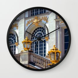 Windows of Nympfenburg Wall Clock