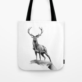All Muscle - Red Deer Stag Tote Bag
