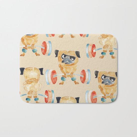 Pug Lift Sweat Bath Mat