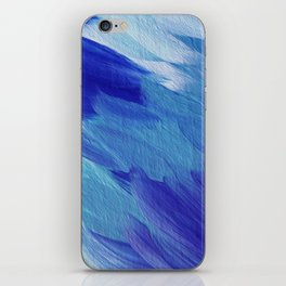 Deepest blues iPhone Skin