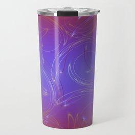 Light Swirls 5 Travel Mug