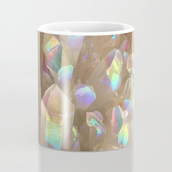 Unicorn Horn Aura Crystals Coffee Mug
