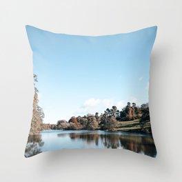 Osmaston park Throw Pillow
