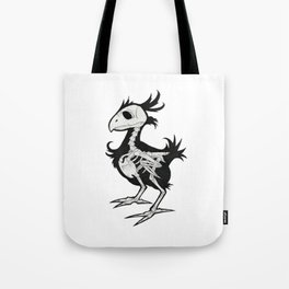Skeleton Chocobo Tote Bag