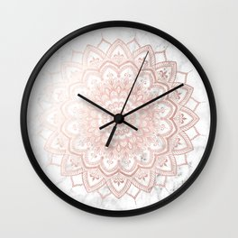 Pleasure Rose Gold Wall Clock