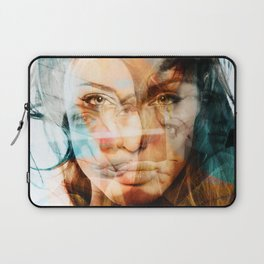 faces of Angelina Jolie Laptop Sleeve