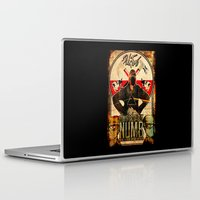floyd Laptop & iPad Skins featuring Pink Floyd illustration mix by aceofspades81