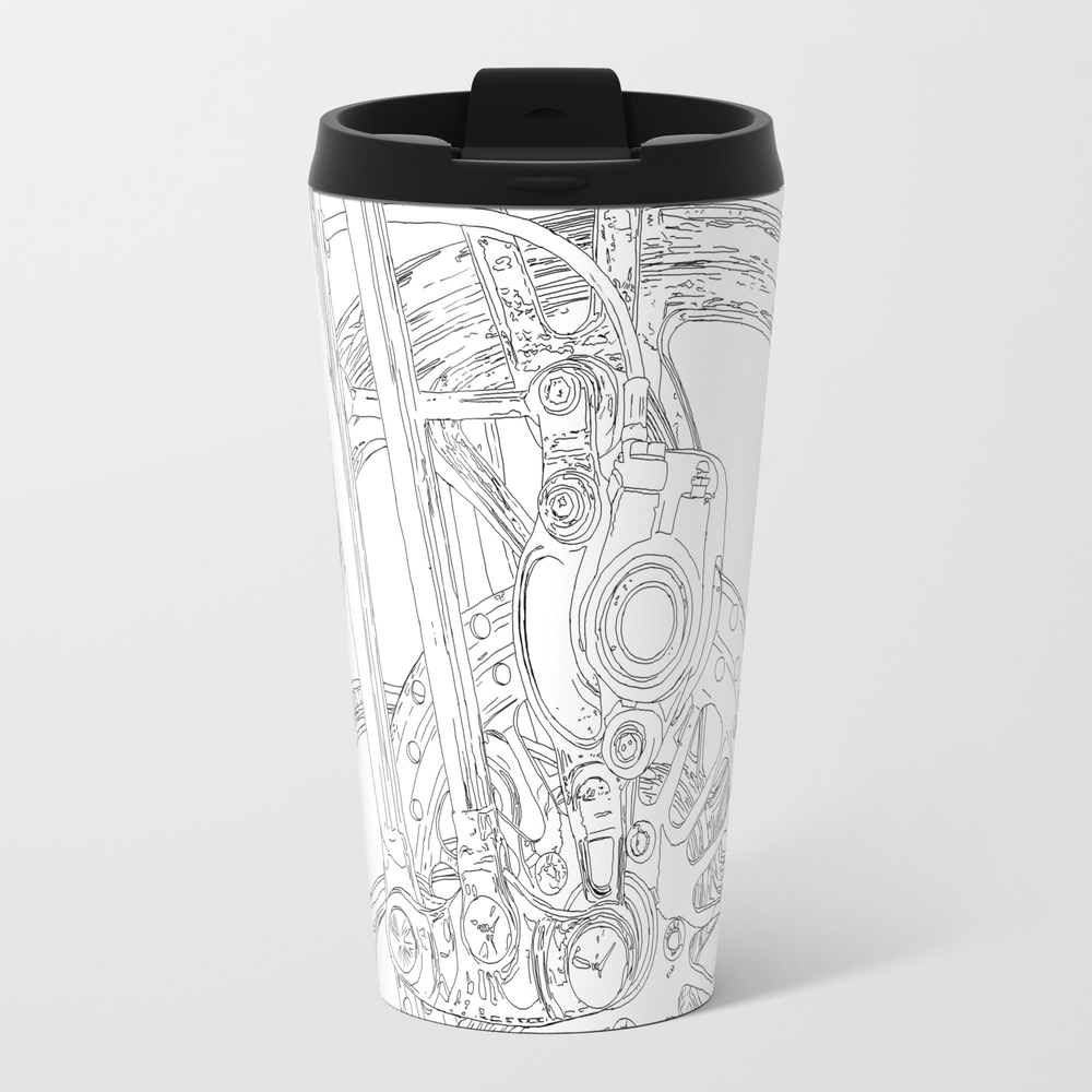 Cycle Detail, Drawing 2 Travel Cup TRM8051927