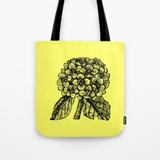 Yellow Hydrangea Tote Bag