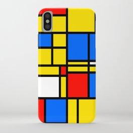 Mondrian Style iPhone Case