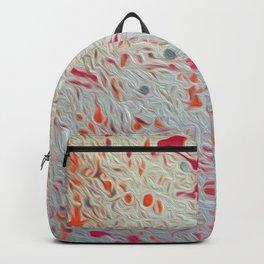 Splatter Pink & Orange Backpack
