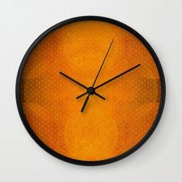 """Sabana Sunset Light Polka Dots"" Wall Clock"