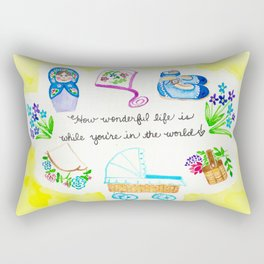 Wonderful Baby Rectangular Pillow