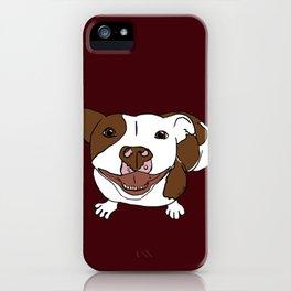 Celia Mae The Pit Bull iPhone Case