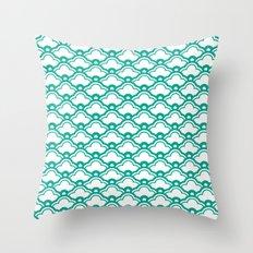 matsukata in emerald Throw Pillow